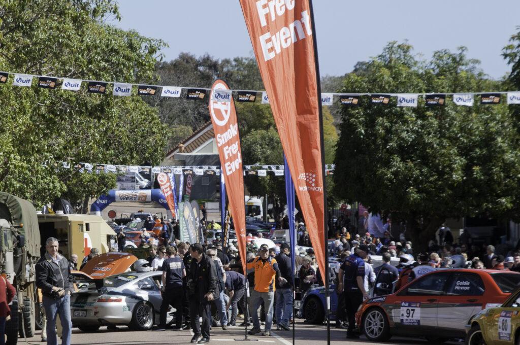 The rally was popular in Kalamunda